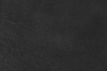 Black leather texture on macro.