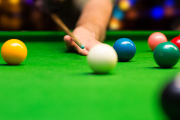 bar games - snooker