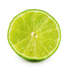 Cut juicy sour lime
