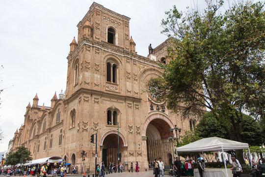 Cattedrale di Cuenca in Ecuador