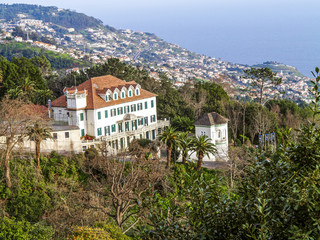 View of Funchal, Portugal, Madeira, Monte