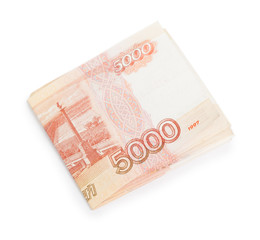 Russian money isolated