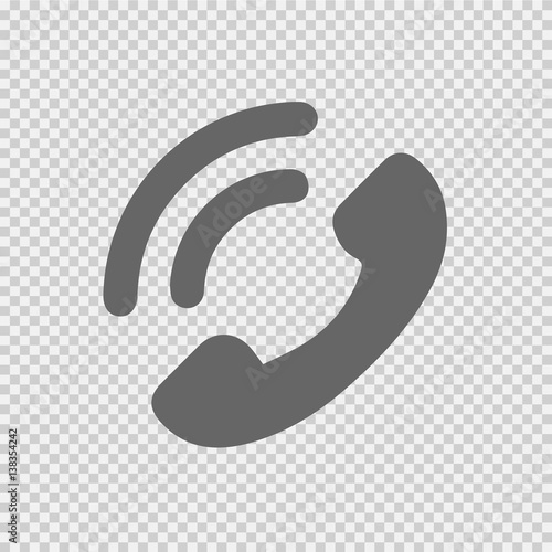 Phone Symbol Vector Icon Eps 10 Telephone Symbol On Transparent