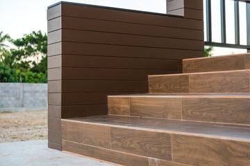The ceramic tile staircase steps, ceramic floor tiles wood pattern