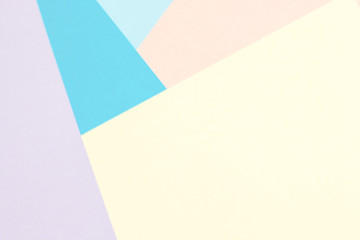 Abstract color paper and Creative colorful pastel paper background.