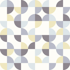 Seamless geometrical pattern with colorful circles