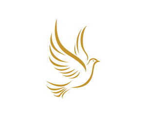 Dove bird logo