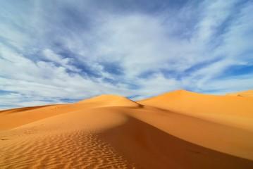 Sand dunes in Sahara desert, Libya