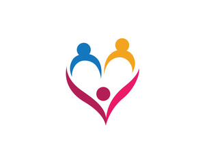 Love symbol and logo