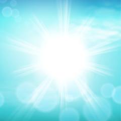 Sunny day background