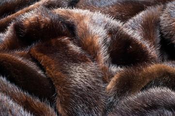 texture. Mink fur. mink coat
