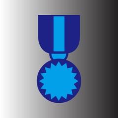 medal vector icon logo symbol design