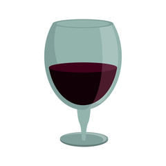 drinking glass wine icon vector illustration eps 10