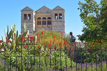 Church of the Transfiguration, Mount Tabor, Lower Galilee, Israel