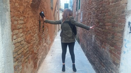 Fotografa tra i muri