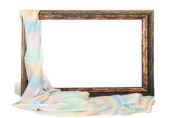 the texture of the picture frame