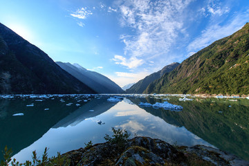 Tracy Arm Morning Reflections