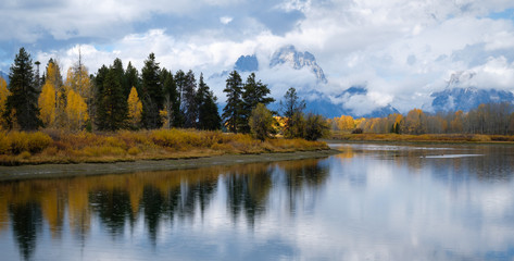 Grand Teton National Park, panoramic image
