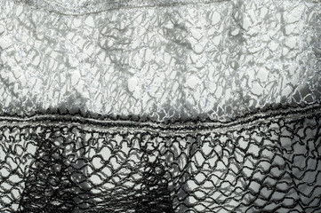 Texture, background, fabric black and white scarf