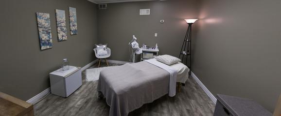 Massage and Facial Room at a Spa