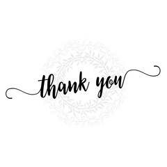 thank you lettering overlay set. Calligraphy photo graphic design element. Sweet cute inspiration typography.