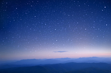 starry in the night sky use as wallpaper
