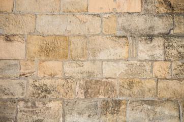 Sandstone stone wall background