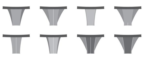 Set of Thong Men Underwear
