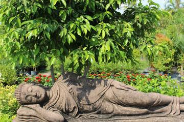 Buddha at Rest under a Tree