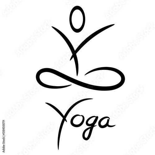 Yoga Symbol Stockfotos Und Lizenzfreie Vektoren Auf Fotoliacom