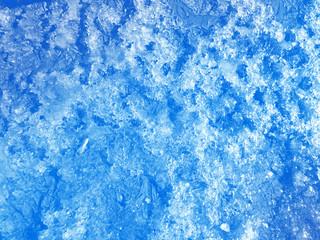 Winter background, ice texture.