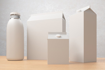 Food packaging, ad concept