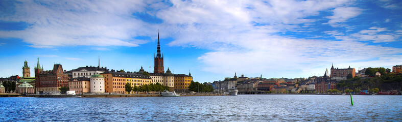 View of Gamla Stan in Stockholm, Sweden