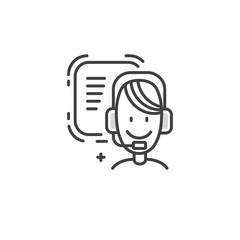 Line phone manager logo