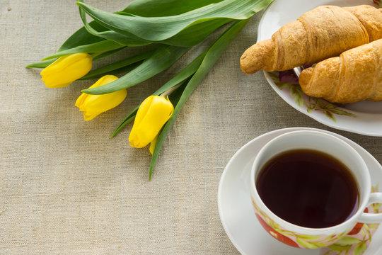 Завтрак 8 марта - женский день