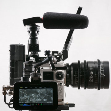 Red Weapon Helium S35 with Sigma Cine lens