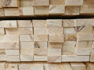 Fototapeta stos desek, deski, drewno, Construction industry obraz