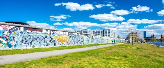 Photo sur Toile Berlin Mur de Berlin en Allemagne