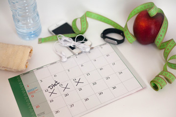Sports equipment for weight loss