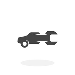 Auto service Icon. Vector logo on white background