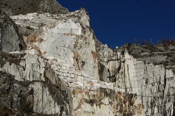 Italien, Toscana, Carrara, Marmorbruch, Steinbruch, Marmorarbeiter, Bergbau, Versilia