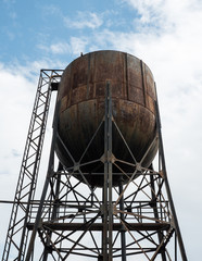 Old water tower.