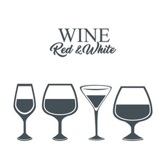 the best wine garanteed vector illustration design