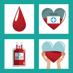 donate blood concept design vector illustration eps 10