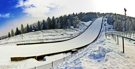 Ski Jumping - Hill's Stadium in Poland