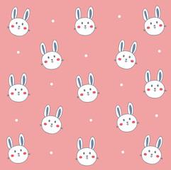 cute white rabbit wallpaper