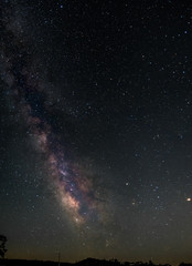 The Milky Way from Pinnacles