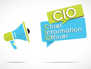 megaphone : CIO (Chief information officer)