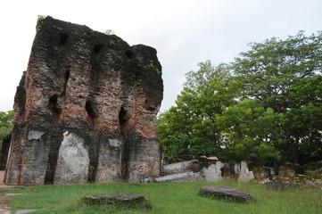 Royal Palace of King Parakramabahu in the world heritage city Polonnaruwa.The Polonnaruwa - medieval capital of Sri Lanka.