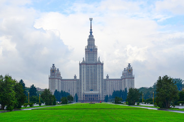 Moscow State University named after Lomonosov, Russia